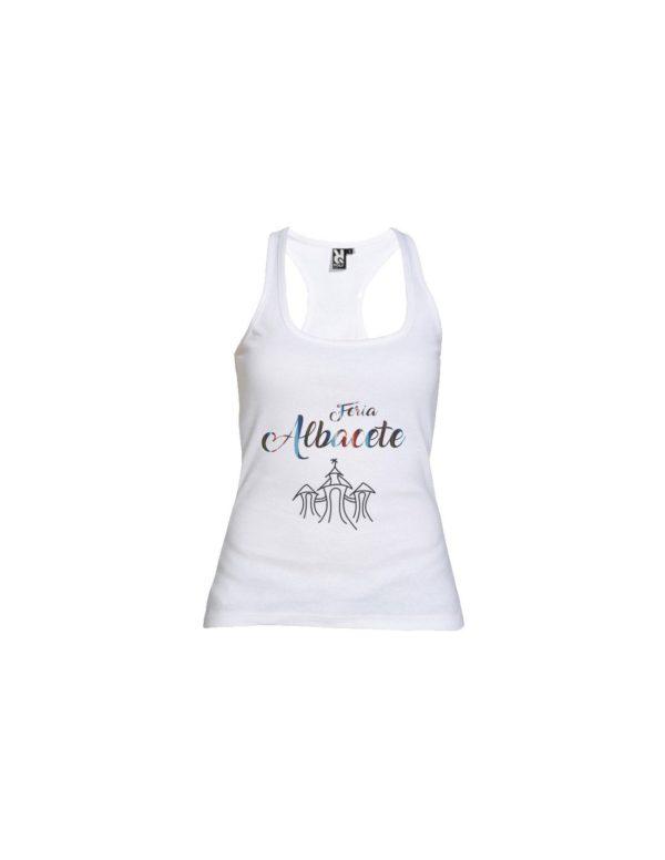 Camiseta Tirantes Chica Feria Albacete
