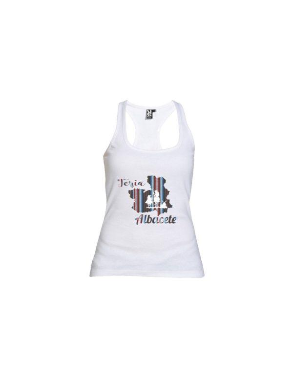 Camiseta Tirantes Chica Feria Albacete Quijote