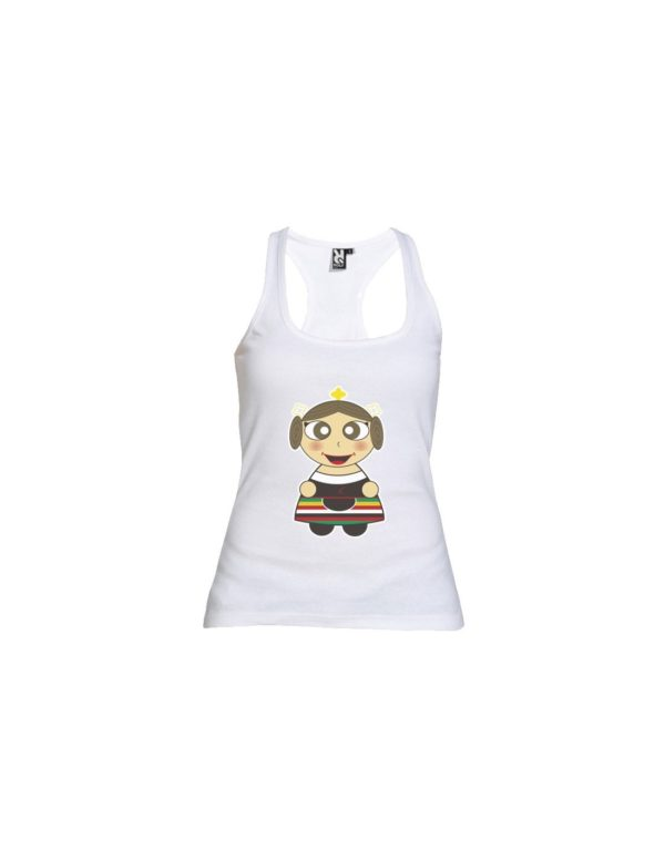 Camiseta Tirantes Chica Feria Albacete Manchega