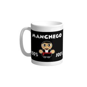 Taza Manchego 100%